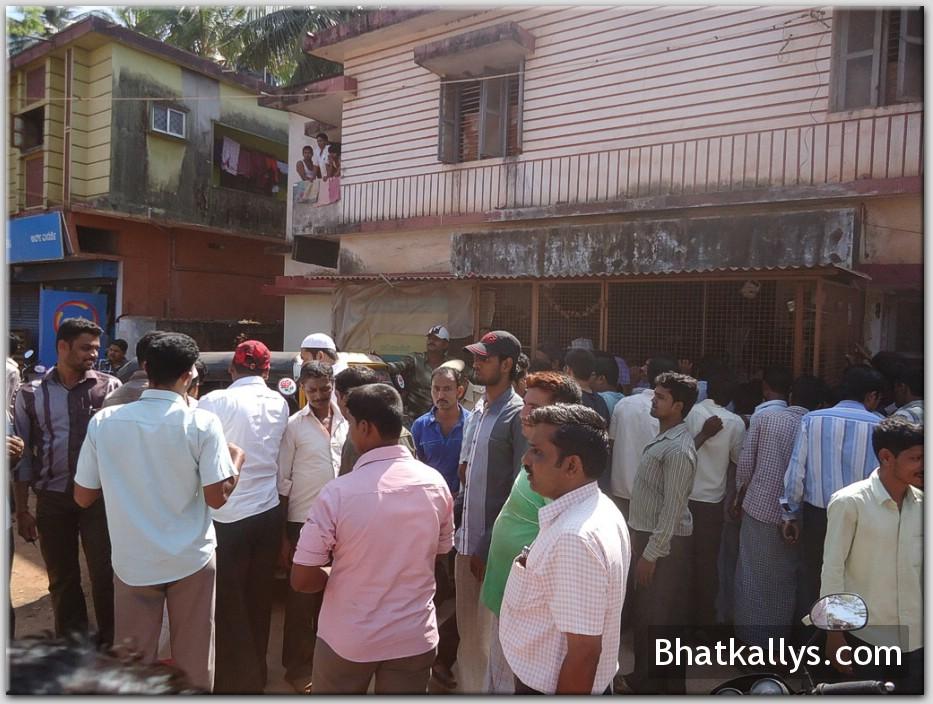 Ration Card raid in Bhatkal