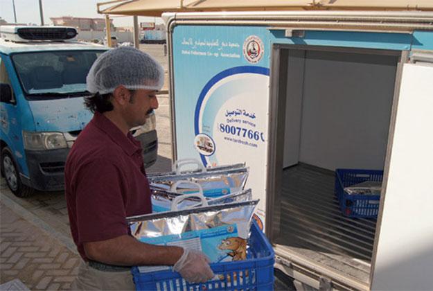 The Dubai Fishermen's Cooperative Association promises fresh fish delivered at home.