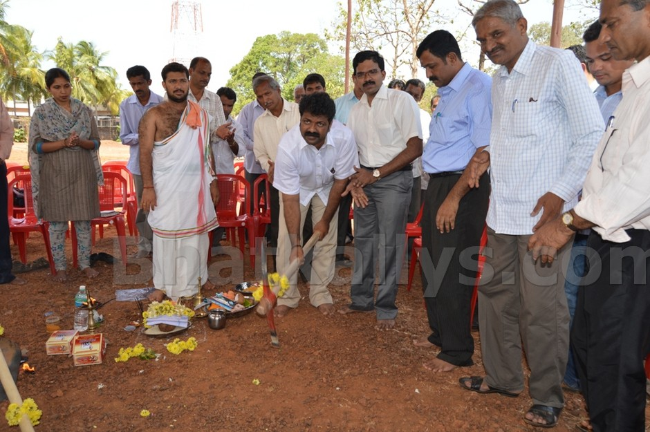 Photos : Foundation Of  New AC Office at Bhatkal