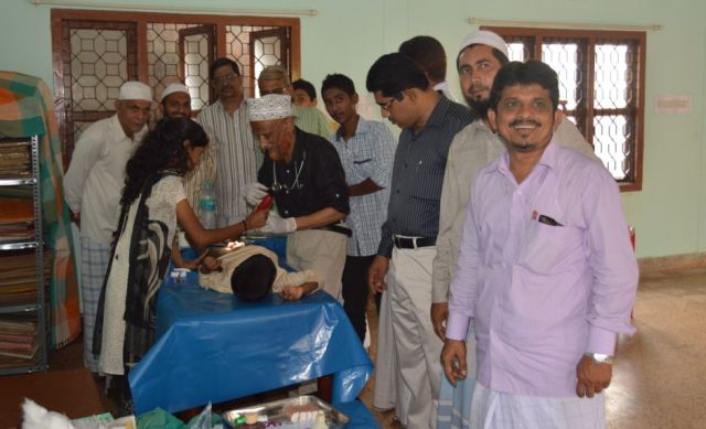 Free circumcision (khatna) camp organized by Tanzeem concludes today