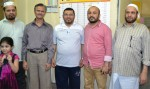 Send off party to Iqbal Saeedi by Bhatkal Muslim Association Kuwait