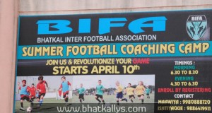 Photos: Summer Football Coaching Camp Organised by BIFA in Bhatkal