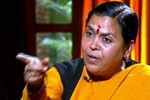 Cong releases Uma Bharati's video in which she calls Modi 'vinash purush'
