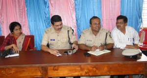 Photos: Police department called a peace meeting at IB ahead of Mari Habba and Eid