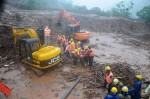 Landslide Near Pune: Hopes of Finding Survivors Fade as Toll Rises to 73