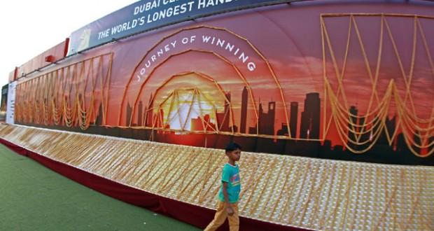 Dubai Sets Record For Longest Gold Chain Bhatkallys Com