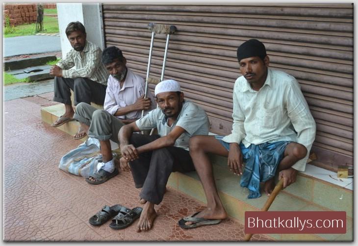 professional beggars