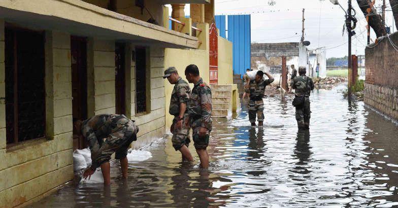 Rain wreaks havoc in parts of Andhra Pradesh