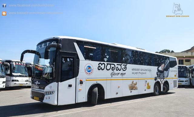 Airavat bus service from Murudeshwar to Bengaluru from Jan 4 - Bhatkallys.com